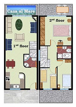 Floorplans - Casa Al Mare