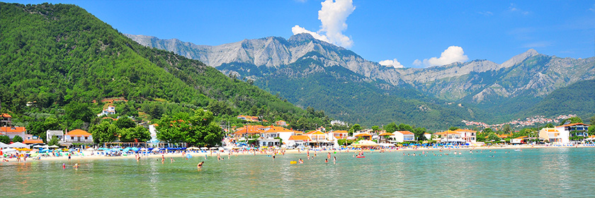 Skala Potamia - Golden Beach